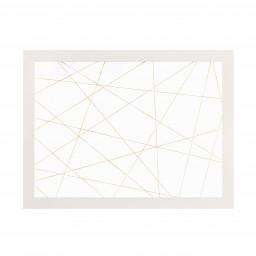 Okvir z vrvico Blaž (bel, črn)